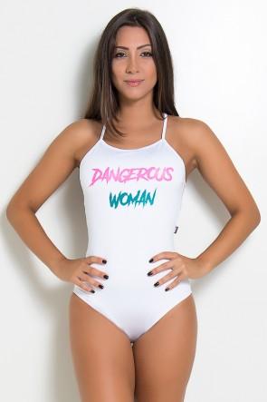 Body Liso com Alças Cruzadas (DANGEROUS WOMAN) | Ref: KS-F2062-001