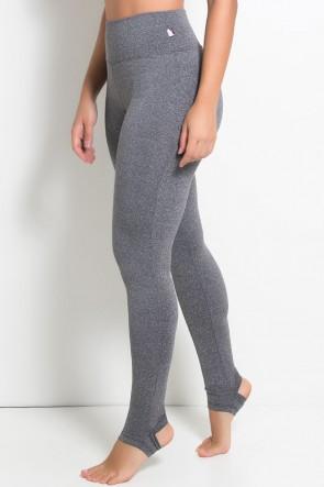 Calça Legging Mescla com Pezinho | Ref: KS-F207-001