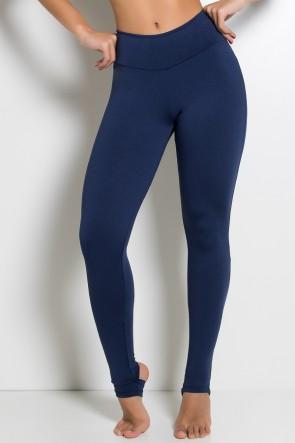 Legging Lisa com Pezinho (Azul Marinho) | Ref: KS-F216-005