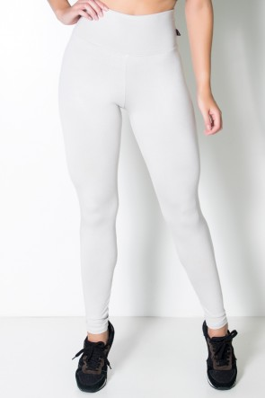 Legging Lisa Suplex Branco Gelo | Ref: KS-F23-020