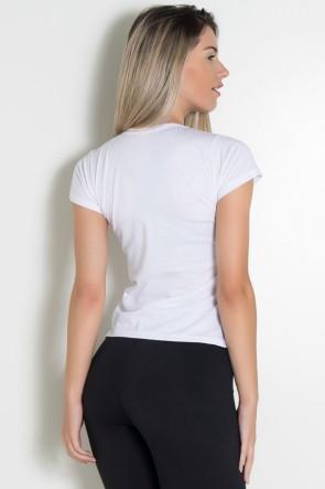 Camiseta Feminina Girly Girls Lift Weights   Ref: KS-F233