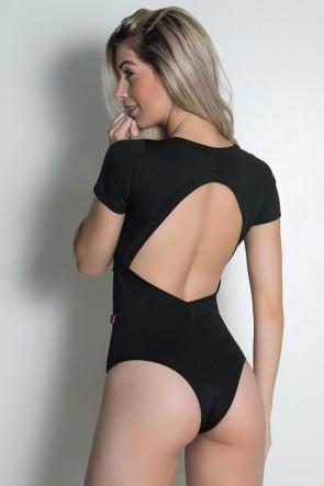 Body Liso Suzana (Preto) | Ref: KS-F242-001