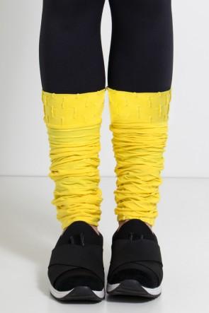 Polaina Tecido Bolha (Amarelo) | Ref: KS-F282-009