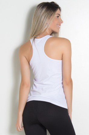 Camiseta de Malha Nadador (Just work out) (Branco) | KS-F320-002