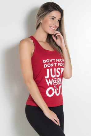 Camiseta de Malha Nadador (Just work out) | KS-F320