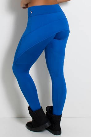 Calça Aranha  (Azul Royal) | Ref: KS-F324-004