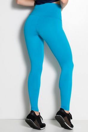 Calça com Bolso e Zíper Adele (Azul Celeste) | Ref.: KS-F335-005