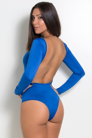 Body Luana Costa Aberta (Azul Royal) | Ref: F418-001