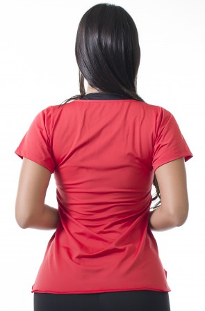 Camisa Paloma Microlight Get Up (Vermelho) | Ref: KS-F431-001