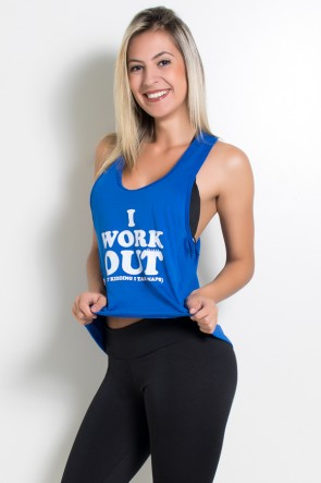 Camiseta de Microlight Eva (I Work Out) | Ref: KS-F437