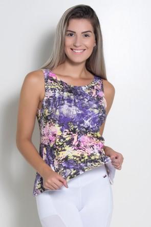 Blusa Natacha Estampada   Ref: KS-F457