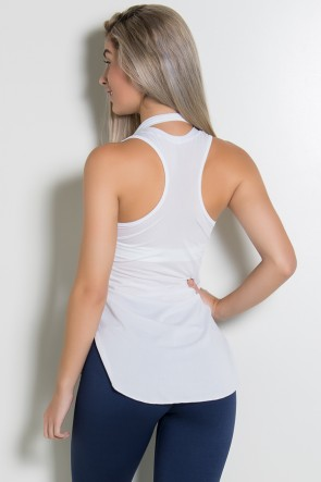 Camiseta Dry Fit Lisa (Branco) | Ref: KS-F467-002