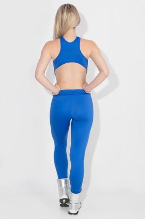 Macacão Scarlet Liso (Azul Royal) | Ref: KS-F478-001