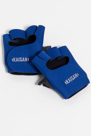 Luva para Academia Unissex (Azul Royal) | Neoprene | Logo Refletiva Kaisan | (O Par) | Ref: KS-F48-003