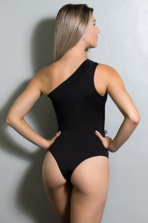 Body Chiquérrima Liso com Detalhe Estampado | Ref: KS-F51