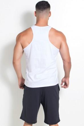 Camiseta Regata (Não Existe Glória Sem Sacrifício) (Branco) | Ref: KS-F519-001