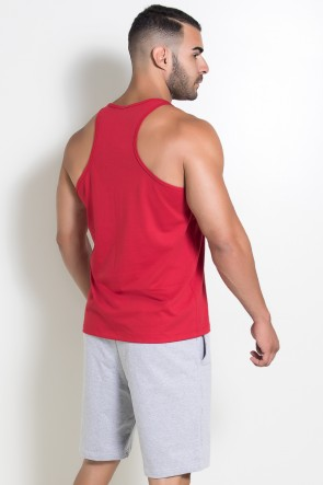 Camiseta Regata (Just Lift It) (Vermelho) | Ref: KS-F522-003