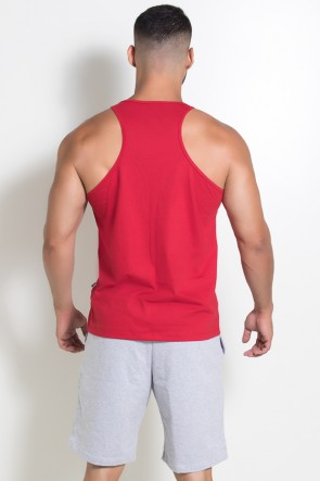 Camiseta Regata (Me Myself And Iron) (Vermelho) | Ref: KS-F523-003