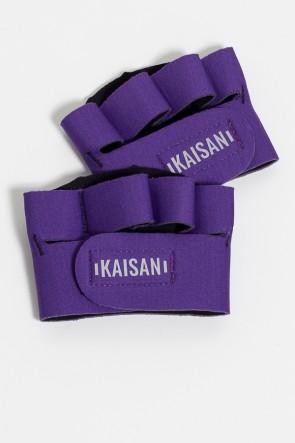 Caleira para Academia Unissex (Roxo) | Neoprene | Logo Refletiva Kaisan | (O Par) | Ref: KS-F55-001