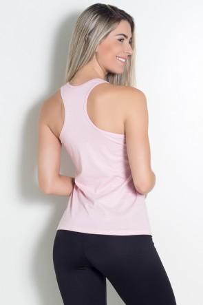 Camiseta de Malha Nadador (A + Estrelas) (Rosa) | Ref: KS-F577-003