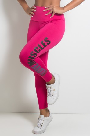 Calça Legging (Love Muscles) | Ref: KS-F618-003