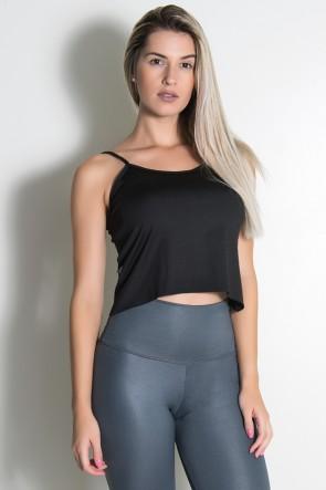 Camiseta Simone Lisa (Preto) | Ref: KS-F623-001