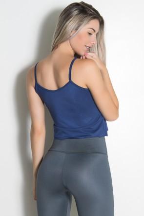 Camiseta Simone Lisa (Azul Marinho) | Ref: KS-F623-002
