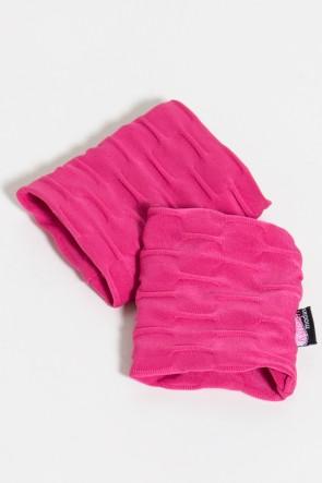 Munhequeira Tecido Bolha (Rosa Pink) | Ref: KS-F639-001