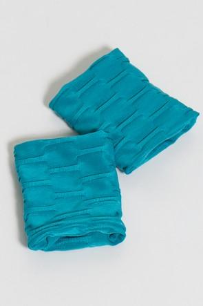 Munhequeira Tecido Bolha (Azul Celeste) | Ref: KS-F639-002