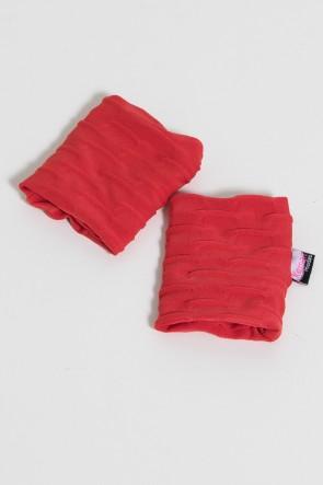 Munhequeira Tecido Bolha (Vermelho) | Ref: KS-F639-005