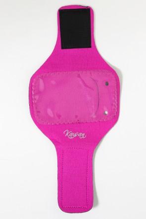 Braçadeira Pequena Lisa para Celular (Rosa Pink) | Ref: KS-F665-003