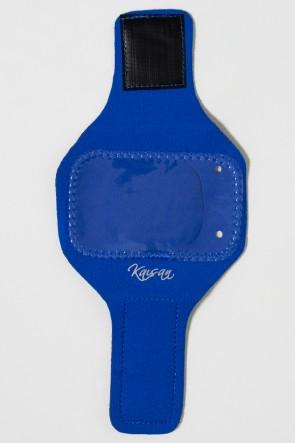 Braçadeira Pequena Lisa para Celular (Azul Royal) | Ref: KS-F665-004