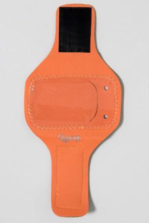 Braçadeira Pequena Lisa para Celular (Laranja) | Ref: KS-F665-008