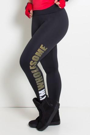 Calça Legging (Im Wholesome) (Preto) | Ref: KS-F710-001