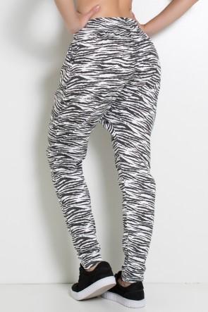 Calça Saruel Estampada (Zebra 2) | Ref: KS-F714-003