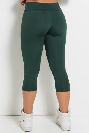 Calça Corsário  (Verde Escuro) | KS-F73-003