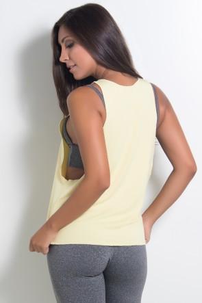 Regata Feminina Lisa (Amarelo) | Ref: KS-F825-008