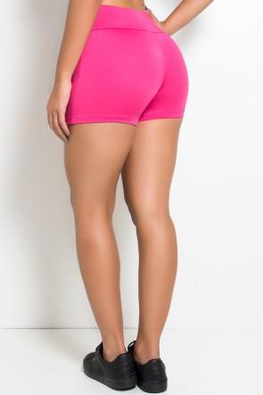 Shortinho Liso Cós Médio (Rosa Pink) | Ref: KS-F880-005