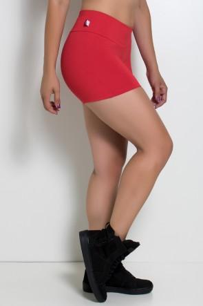 Shortinho Liso Cós Médio (Vermelho) | Ref: KS-F880-010
