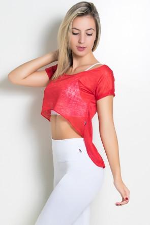 Camiseta Tecido Transparente   Ref: KS-F944