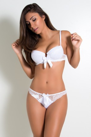 Conjunto Monique 2388 (Branco) | Ref: KS-B209-004