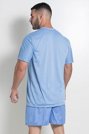 Pijama Masculino 071 (Azul Claro) CEZ-PA071-002