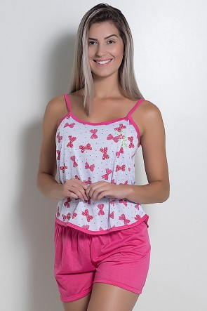 Babydoll Feminino 025 (Pink) - AC