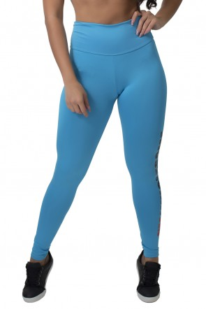 Calça Legging (Im Wholesome) (Azul Celeste) | Ref: F710-004