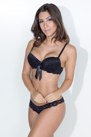 Conjunto Monique 2388 (Preto) | Ref: KS-B209-005