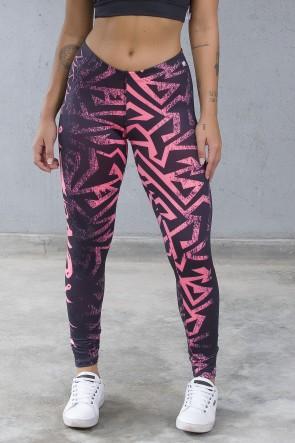Legging Sublimada PRO (Stronger Rosa Neon) | Ref: NTSP12-001