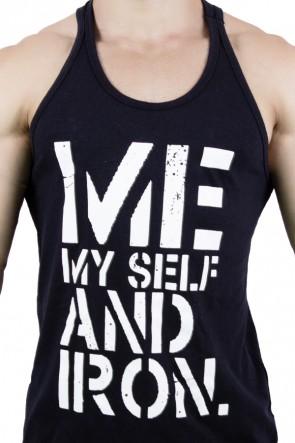 Camiseta Regata (Me Myself And Iron) | Ref: KS-F523