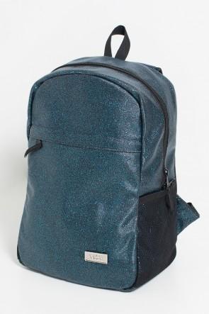 Mochila com Brilho (Azul Marinho com Glitter) | Ref: KS-MF11-005
