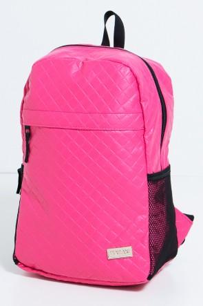 Mochila Matelassê (Rosa Pink) | Ref: KS-MF12-002
