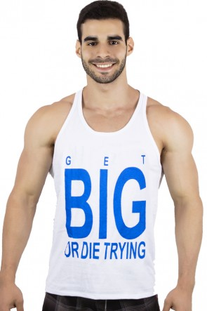Camiseta Regata (Get Big Or Die Trying) | Ref: KS-F529